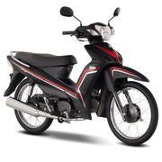 Xe máy Elegant 50 (Đỏ đen)
