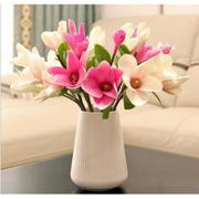 Bình hoa sứ cao cấp phong cách đơn giản, tinh tế (trắng)