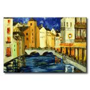 Tranh in canvas sơn dầu Thế Giới Tranh Đẹp Scenery 048