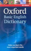 OXFORD BASIC ENGLISH DICTIONARY - NEW 4TH EDITION