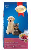 Thức Ăn Cho Chó Con SH Hương Vị Thịt Bò Nướng Và Sữa - 500gr