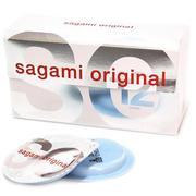 Bao Cao Su Sagami Original 0.02 - Hộp 12 Gói