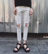 quần jeans nam rách lỗ