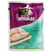 Sốt Whiskas Cá Ngừ 85g