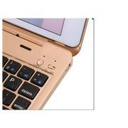 Bàn phím Bluetooth keyboard ốp lưng iPad mini 1 2 3 + Tặng tai nghe và giá đỡ điện thoại (Đen)