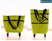 Túi xách có bánh xe kéo tiện lợi