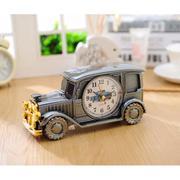 Đồng hồ báo thức - đồng hồ để bàn làm việc (Xám)