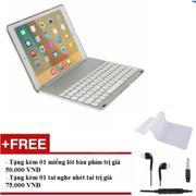 Bàn phím bluetooth iPad Air 2 iPad 6 + Tặng kèm tai nghe + miếng lót bàn phím