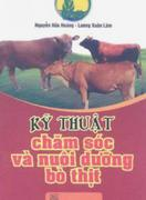 Kỹ thuật chăm sóc và nuôi dưỡng bò thịt