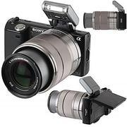 Sony alpha nex-5k with 18-55mm lens
