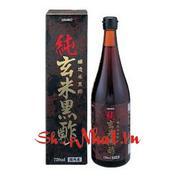 Dấm đen chai giảm cân Orihiro 720ml