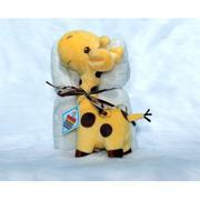 Chăn thú bông cao cấp dành cho trẻ sơ sinh từ 0-18 tháng - Mushroom Lee - Blanket with Love Hươu cao...