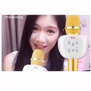 Micro Hát karaoke Bluetooth ZBX - 66 Thế Hệ Lọc Âm Mới Nhất ( Gold ) Hàng Nhập Khẩu + Cáp sạc dây Rú...