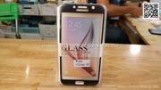 Miếng dán cường lực full màn hình Samsung A7 2017 viền mềm