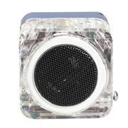 Portable Mini Speaker Digital Music MP3/4 Player Micro SD TF USB FM Radio (Blue) (Intl)