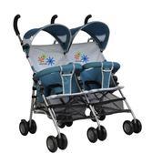 Xe đẩy đôi cho bé babylove BL305