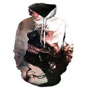 áo hoodie 3d tokyo ghoul