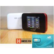 Thiết bị phát wifi 3G Huawei Emobile GL10P lướt web thả ga không lo chi phí, màn hình cảm ứng tiện l...
