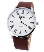 Đồng hồ nam Skmei la mã SK-092 - Nâu