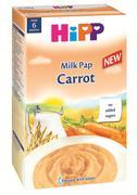 Bột sữa và rau củ dinh dưỡng HiPP – cà rốt 250g