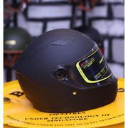 Mũ bảo hiểm Fullface Royal M136 + Tặng 1 khăn đa năng màu sắc ngẫu nhiên (Đen tem Xanh)