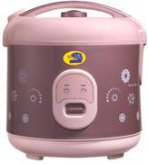 Happycook HC-180B/ 1.8 lít/ Nâu/ Nồi cơm điện