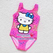 Áo bơi bé gái hình Hello Kitty 155k size 3-6 tuổi