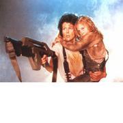 Ảnh decal bóc dán Alien ( 297mm x 210mm ) (Cà phê)