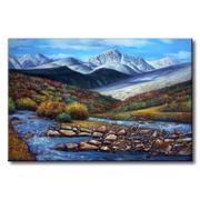 Tranh in canvas sơn dầu Thế Giới Tranh Đẹp Scenery 156