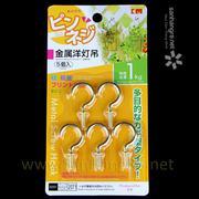 Bộ 5 móc Inox xoắn vít 1kg KM 2071 hàng Nhật