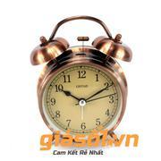Đồng hồ báo thức Clock – 6040 (Đồng đỏ)