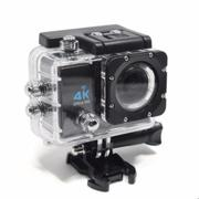 Camera hành động Waterproof ACTION CAMERA WIFI MultiPurpose 4K ULTRA HD (Xanh)