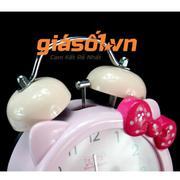 Đồng hồ báo thức để bàn cho bé AY17048 (Hồng)