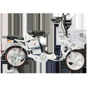 Xe đạp điện HK Bike ZINGER COLOR (Xanh Tím Than Galaxy) + Tặng 1 nón bảo hiểm HK Bike