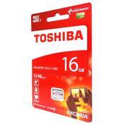 Thẻ nhớ MicroSDHC Toshiba Exceria 16GB Class 10 48MB/s New Box (Đỏ)
