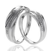 nhẫn đôi bạc shaiya - ns 1205