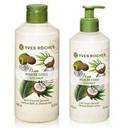 [COMBO] Gel tắm Yves Rocher 400ml + Dưỡng thể Yves Rocher 390ml - Hương dừa Y118571+ Y118586 - 17984...