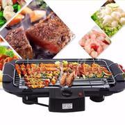Bếp / Vỉ nướng điện cao cấp không khói Barbecue Grill 2000W + Tặng kèm bình giữ nhiệt Inox (Kingstor...