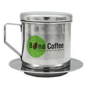 Phin Cà Phê Inox Cao Cấp Bona Coffee Stanless Steel Coffee Filter 95g