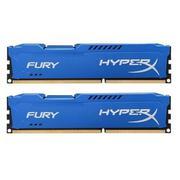 HX316C10FK2/8 - Kingston 8G 1600MHZ DDR3 CL10 Dimm (kit of 2) HyperX Fury Blue