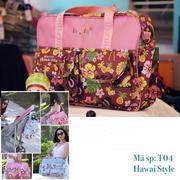 Túi đựng đồ hình hoa cho mẹ và bé Insular