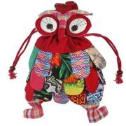 Kid Children Colorful Owl Bird Animal Cartoon SchoolBag Backpack Bag Mochila - intl