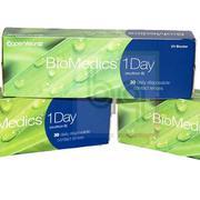 Kính áp tròng không màu Biomedics 1 ngày