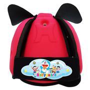 Mũ bảo vệ đầu cho bé BabyGuard (Hồng) logo Doremon 02 221