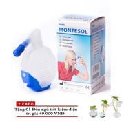 Bình rửa mũi Pari Montesol + Tặng 01 Đèn ngủ tiết kiệm điện