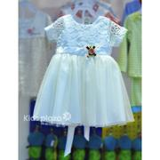 Đầm công chúa voan trắng