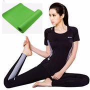 Thảm tập Yoga NBR chất lượng cao bảo vệ sức khỏe, thân thiện môi trường