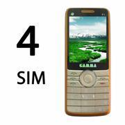 ĐTDĐ Gamma F1 4 Sim 4 sóng pin khủng
