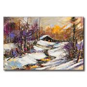 Tranh in canvas sơn dầu Thế Giới Tranh Đẹp Scenery 008