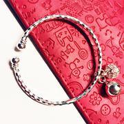 Lắc tay tròn bạc 925 Pinky Accessories LPT9
